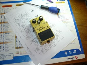 Boss sd1 sd-1 overdrive mods 13