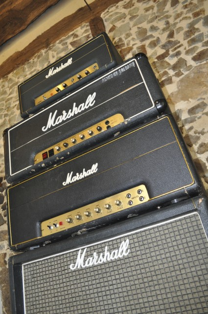 Marshall stack 2203 1987 1917 2045