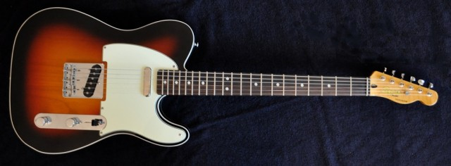 Squier telecaster custom classic vibe upgraded