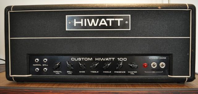 Hiwatt DR103 face