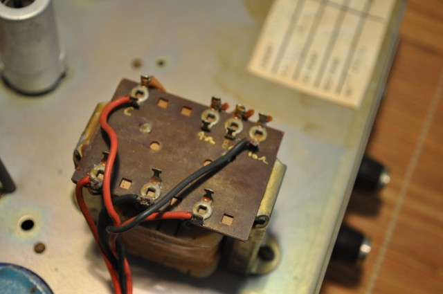 Marshall PA 20 1917 output transformer