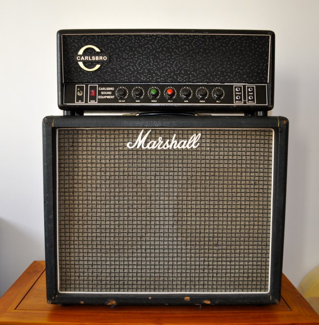 Carslbro CS 60 TC and Marshall cab