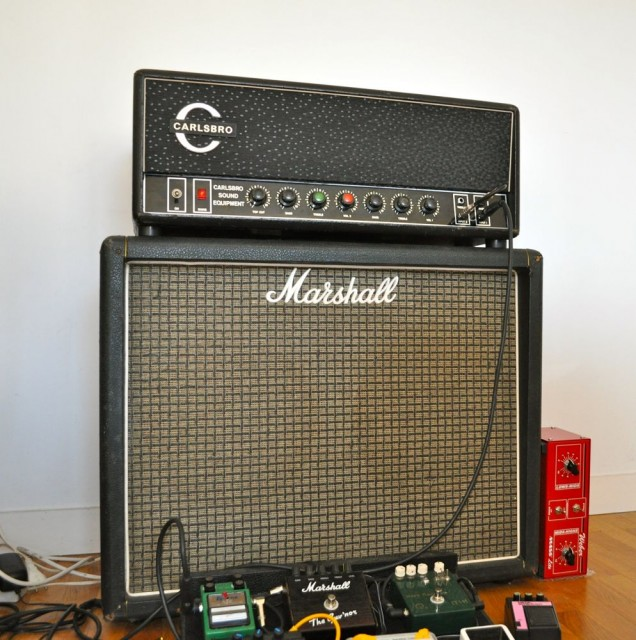Carslbro CS 60 TC and Marshall cab Weber mass