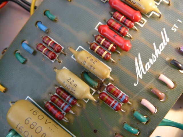 Marshall JMP 50 1987 Coupling Capacitor 2.2nF