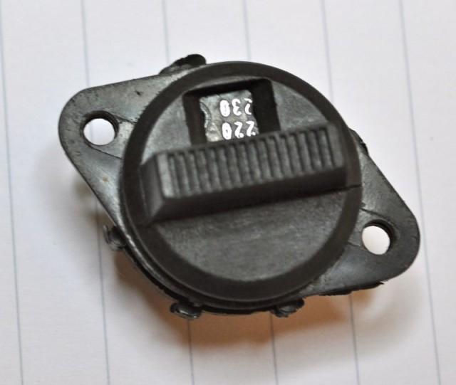 Marshall Vintage voltage selector - 2