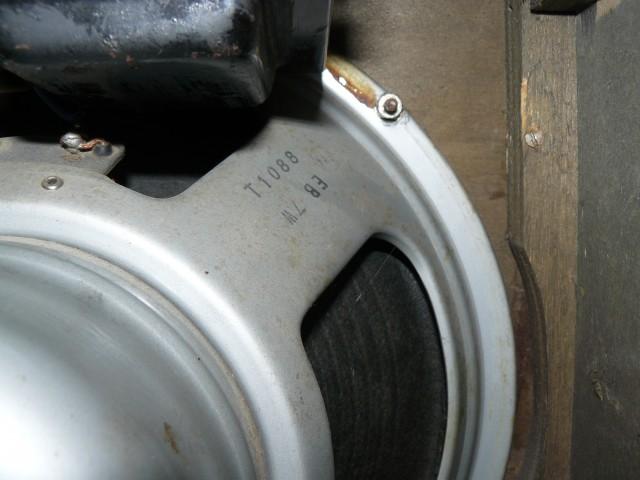 Vox AC30 1968 Loudspeaker T1088 #2