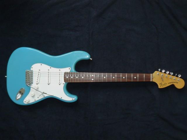 Fender stratocaster CBS Maui Blue (2)