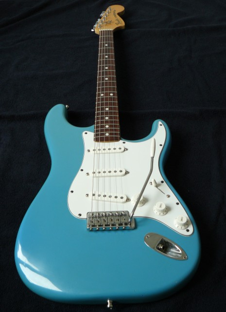 Fender stratocaster CBS Maui Blue