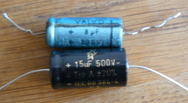 WEM ER 15 power filter capacitor replacement 1