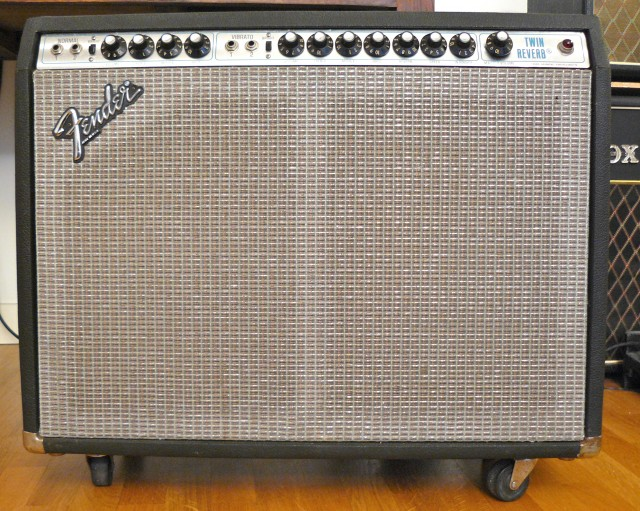 Fender twin reverb 135W silverface 1