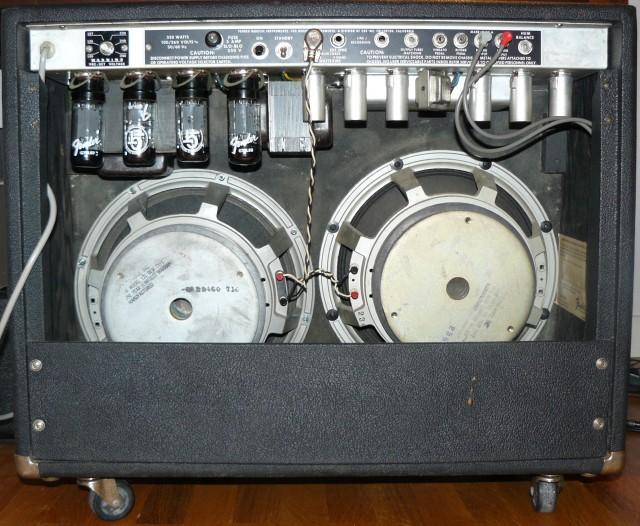 Fender twin reverb 135W silverface Electrovoice loudspeaker