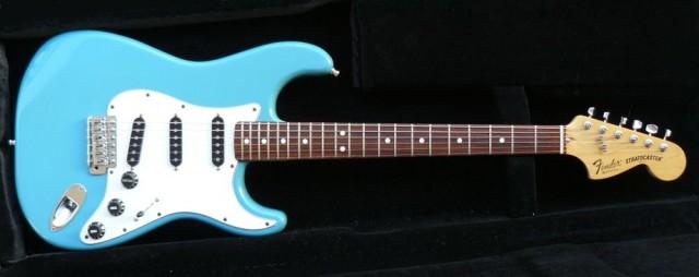 Fender stratocaster CBS Blue Maui - 2