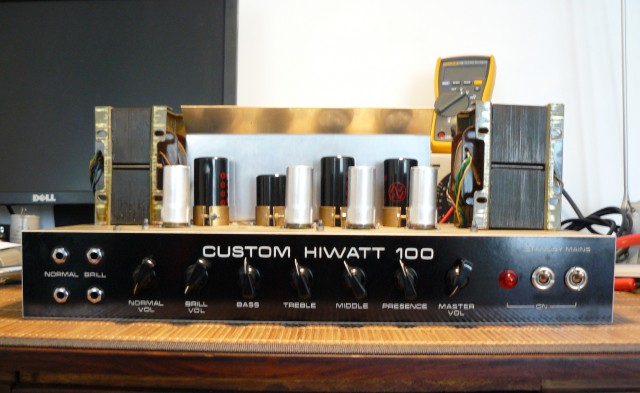Hiwatt DR103 recapped 1