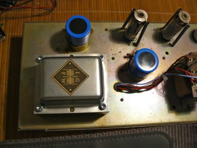 Marshall PA 20 - Shinrock IGPW SOT-M18R Output transformer
