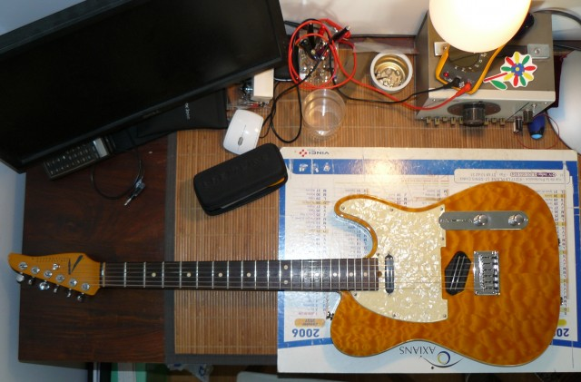 Tom Anderson telecaster Hollow T