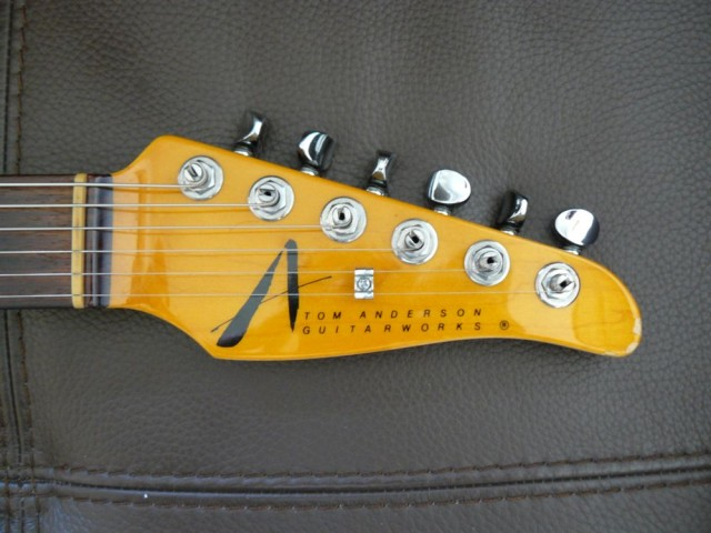 Tom Anderson telecaster headstock