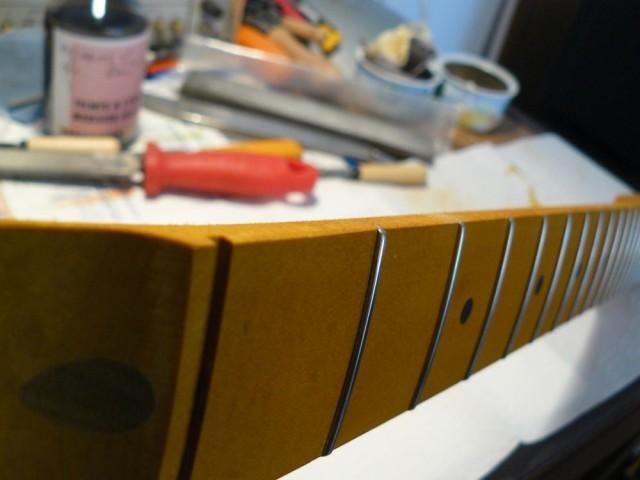 Baseball bat Fat net chunky allpart for telecaster TMO-FAT sharp edge