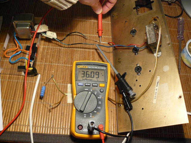 output transformer ratio impedance V1  unknown transformer