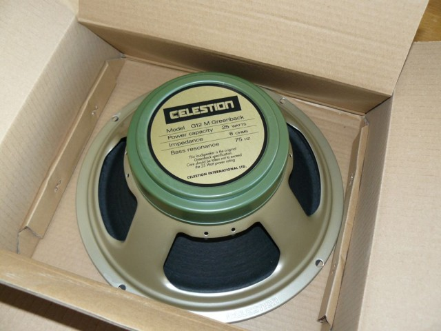 Fender Blues Junior Celestion Greenback