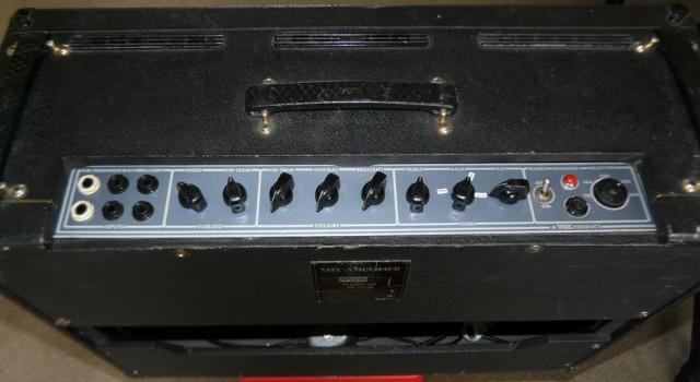 Vox AC30 1968 Panel