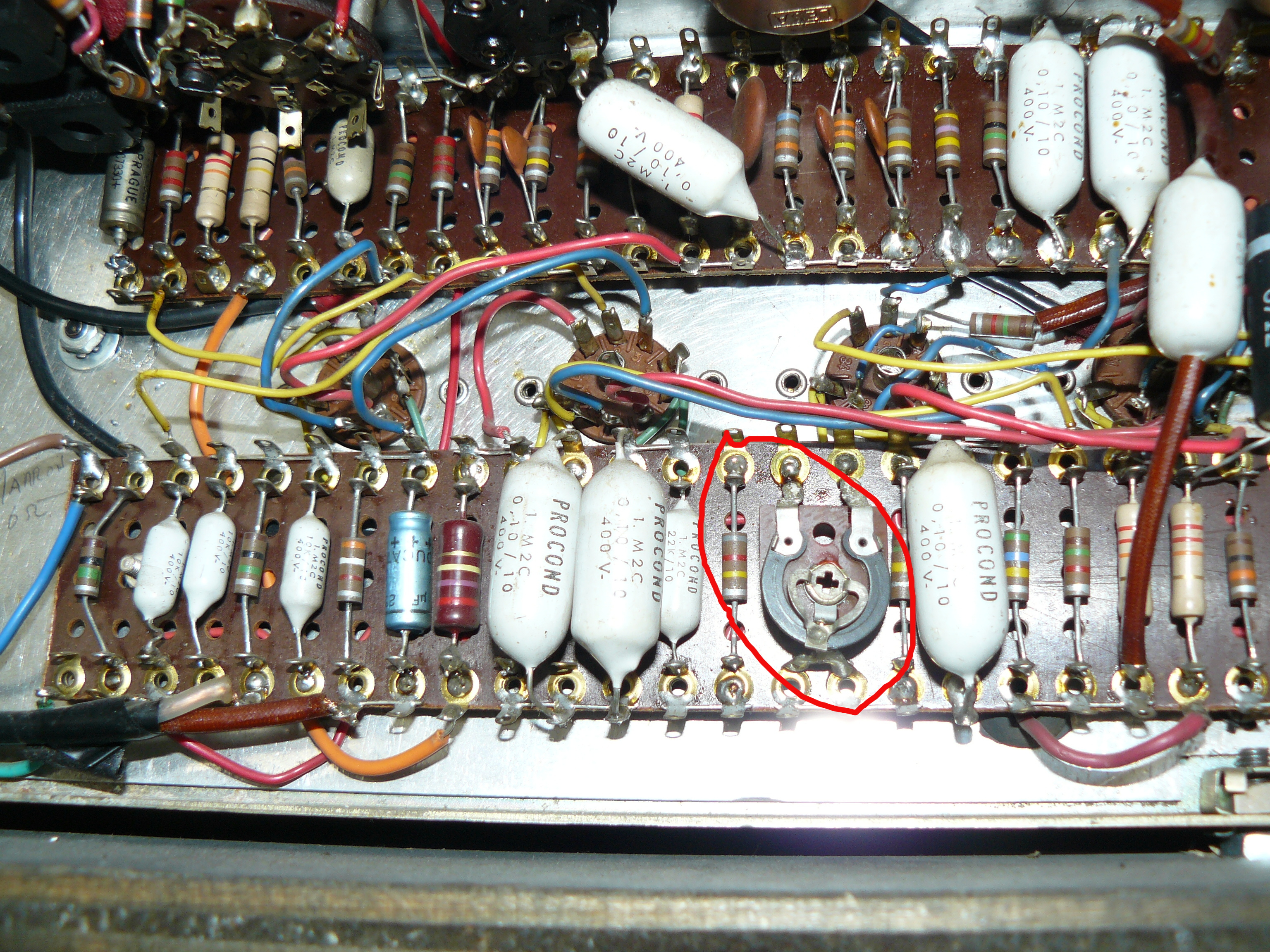 Variable Resistor Ac30 Vintage It 11 Audio Tonegeek Wiring