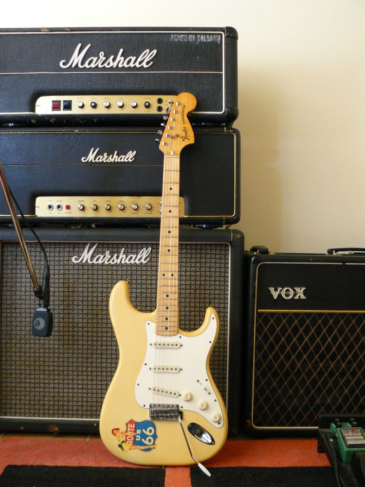 CBS Strat and Marshall amps … | It-11 Audio / Tonegeek