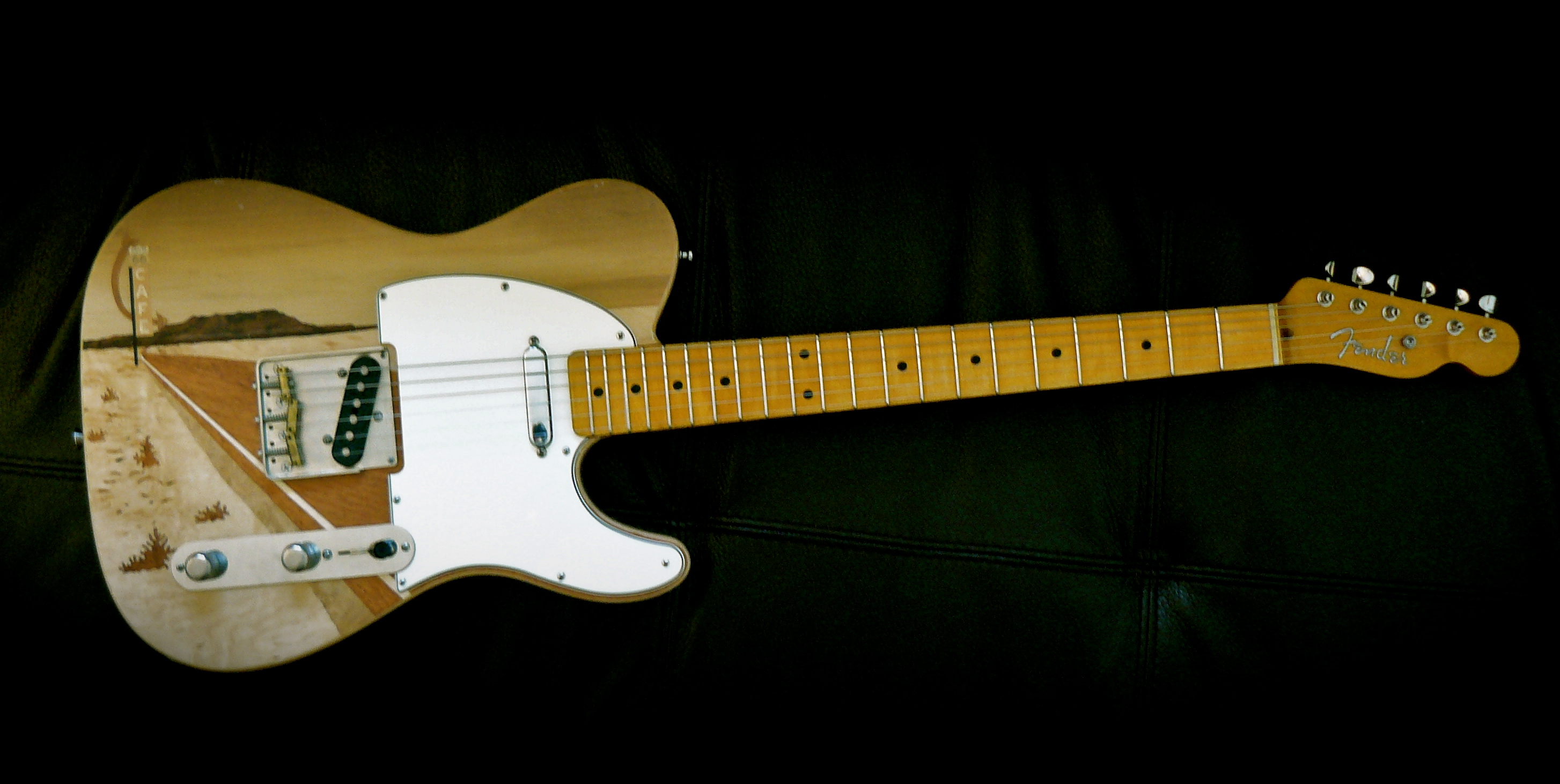 Telecaster route 66 allparts warmoth callaham