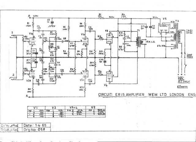 WEM er 15 schematic