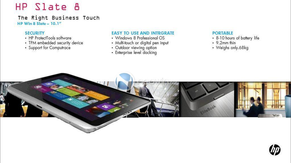 Windows 8 HP tablet x86