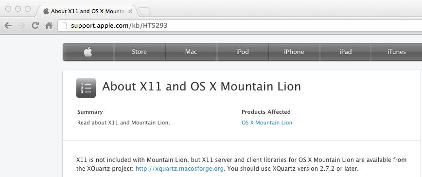 Download x11 lion.