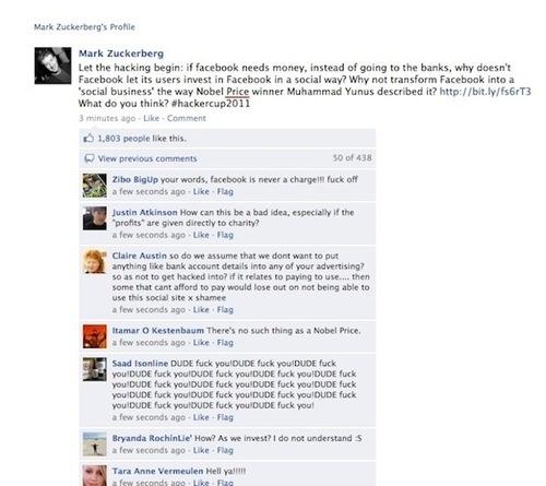 Mark Zuckerberg facebook hack