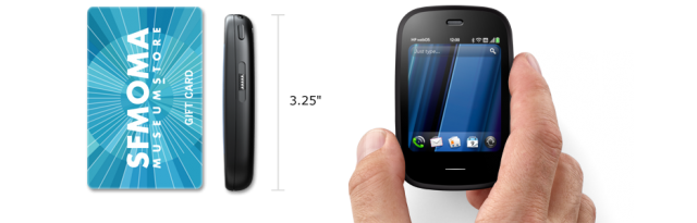 hp veer under webos in hand