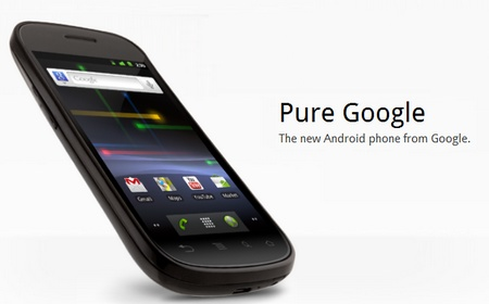 Google phone nexus S